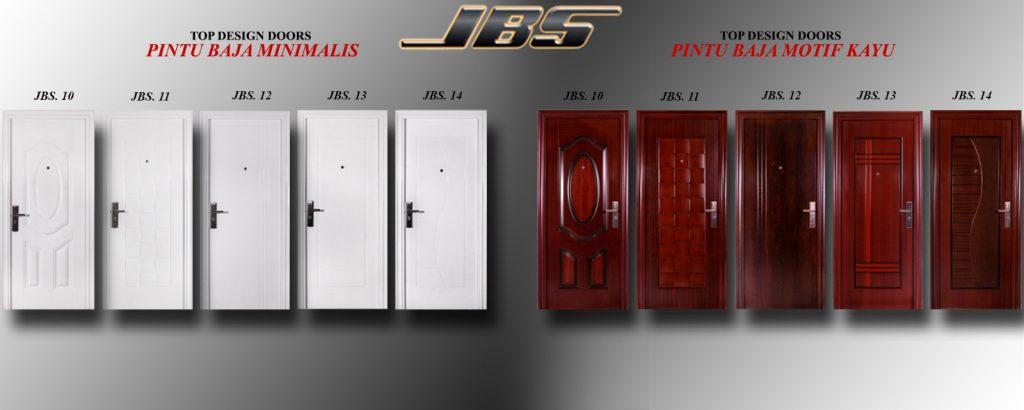 Pintu Rumah Minimalis Terbaru - Pintu Besi Dua Daun